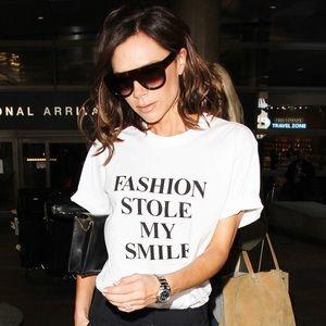 Fashion Stole My Smile - Victoria Beckham T